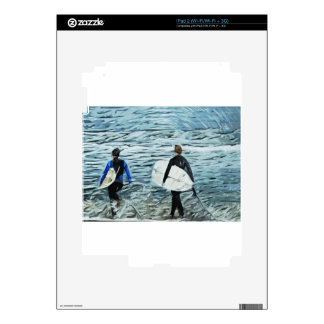 2 surfers skins for the iPad 2