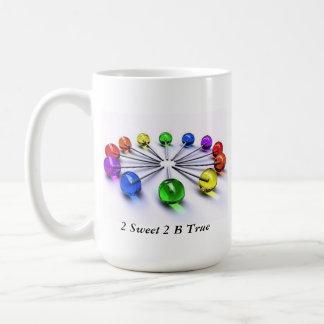 2 Sweet 2 B True Lollipop Mug Cup