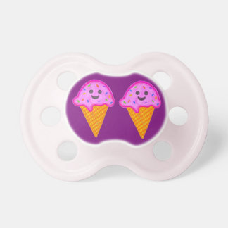 2 Sweet 4 U Purple & Pink Ice Cream Pacifier