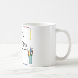 2 Teach Is 2 Touch Lives 4 Ever Coffee Mug