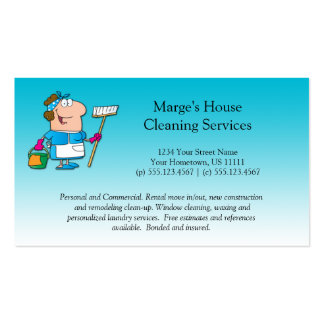 House Cleaning Business Cards & Templates