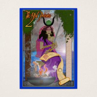 2 the high priestess business card