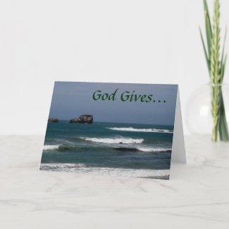 2 Timothy 1:7 Encouragement Card card