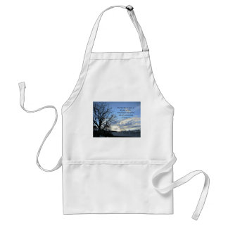 2 Timothy 1:7 For God has not given us the spirit Adult Apron