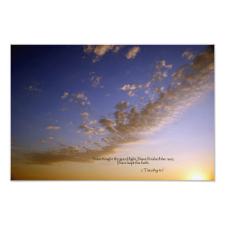 2 Timothy 4:7 I have fought the good fight... Photo Print