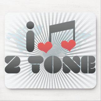 2 Tone fan Mouse Pad