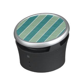 2-Tone Green vertical lists Bluetooth Speaker