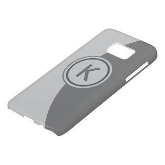 2 Tone Grey Monogram Samsung Galaxy S7 Case