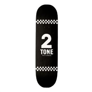 2 Tone Records Checkered design Skateboard