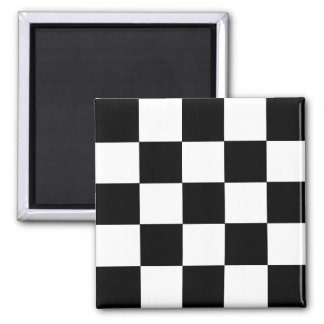 2-Tone Ska Checks Magnet