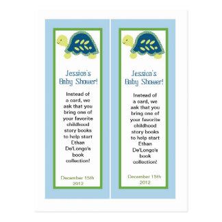 2 tortugas de mar azules de las señales postales