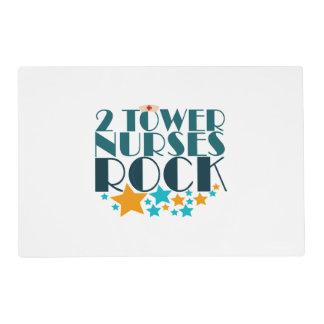 2 Tower Nurses Rock Placemat