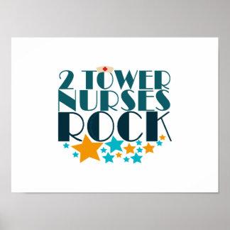 2 Tower Nurses Rock Poster