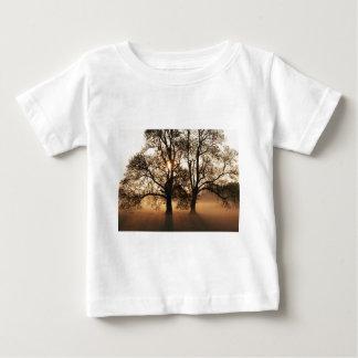 2 TREES SEPIA GOLD ORANGE SHIRT