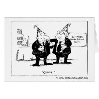 $2 Trillion Bank Bailout Party Card