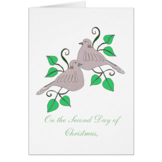 2 Turtle Doves Cards