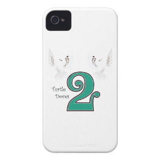 2 Turtle Doves iPhone 4 Case