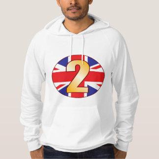 2 UK Gold Hoodie