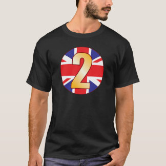 2 UK Gold T-Shirt