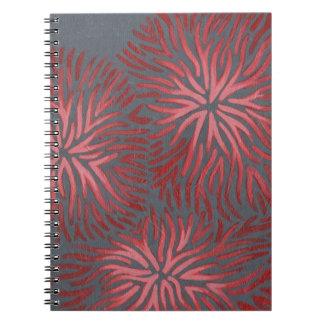 2-Up Dianthus II Spiral Notebook