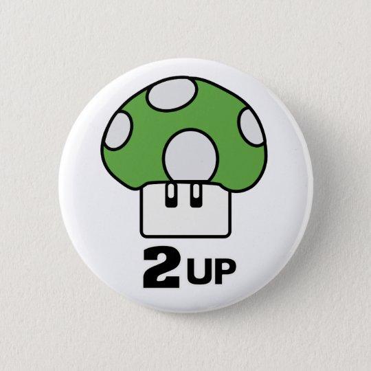 2 Up mushroom Button