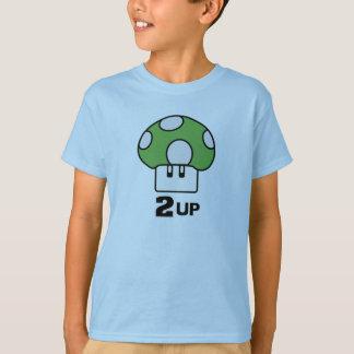 2 Up mushroom Shirt