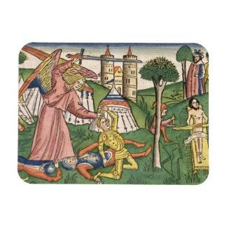 2 venganza de los reyes 19 dioses 35-37 en Assyria Iman Rectangular