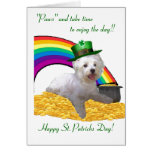2. Westie St Patricks Card at Zazzle