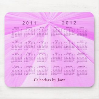 2 Year Calendar 2011-2012 Mouse Pad