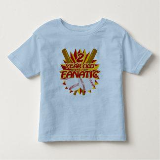 2 Year Old Baseball Fanatic Toddler T-shirt