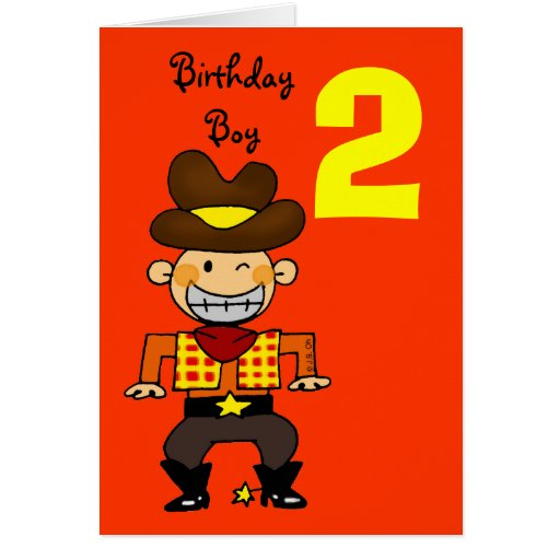 Anniversary cards 2 years : Year old birthday boy greeting card zazzle