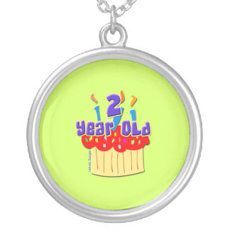 2 Year Old Round Pendant Necklace