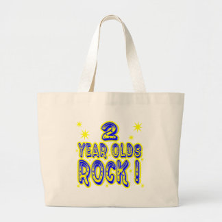 2 Year Olds Rock! (Blue) Tote Bag