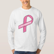 2 Year Survivor (Breast Cancer Pink Ribbon) T-Shirt