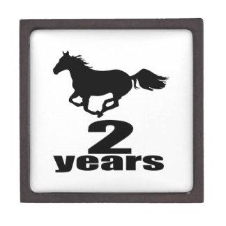 2 Years Birthday Designs Gift Box