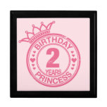 2 years - Birthday Princess - pink Jewelry Box