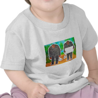 2 Yowie H,text & furry in outback,.JPG T-shirt
