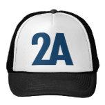 2A - 2da enmienda - azul Gorros