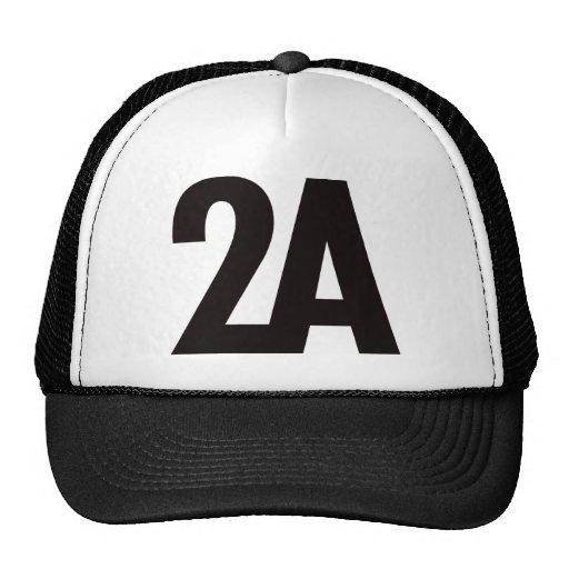 2A - 2da enmienda - negro Gorro De Camionero