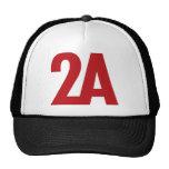 2A - 2da enmienda - rojo Gorras