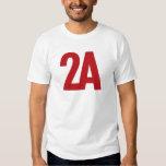 2A - 2nd Amendment - Red T-Shirt
