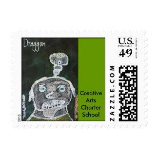 2A-Draggon Postage