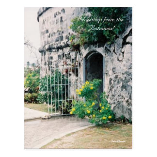 2a-mine, Greetings from the Bahamas!, Julie Henkle Postcard