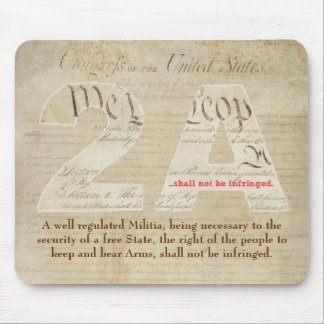 2A Mousepad w/ Constitution and Bill of Rights