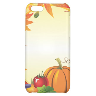 2ai, fall, harvest, wreath, colourful, vegetables, case for iPhone 5C