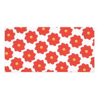 2ai red flowers card