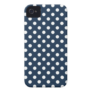 2AM Blue Polka Dot Iphone 4 4S Case iPhone 4 Cover