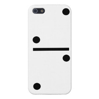 2and 2 Dominos Design case Case Savvy iPhone 5