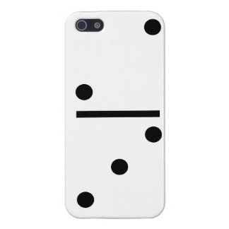 2and 3 Dominos Design case Case Savvy iPhone 5