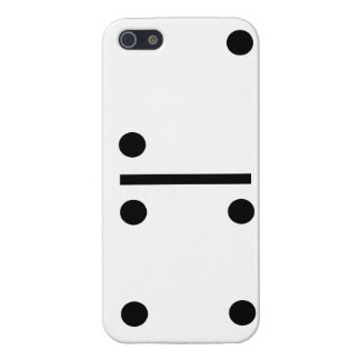 2and 4 Dominos Design case Case Savvy iPhone 5